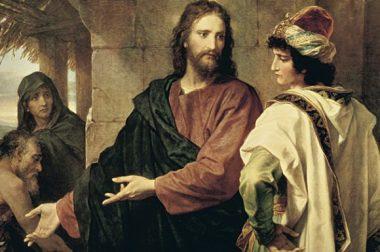 ИИСУС И БОГАТЫЙ ЮНОША . Олег ЗАМУРУЕВ
